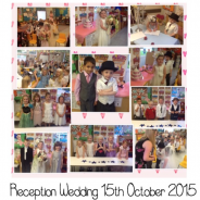 Reception Wedding 15th October 2015