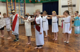 Year 6 Greek Dancing